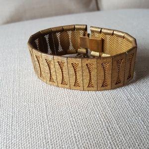 Miriam Haskell bracelet midcentury modern